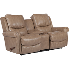 Duncan Reclina-Way Full Reclining Loveseat W/ Middle Console