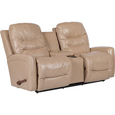 Ace Reclina-Way Full Reclining Loveseat W/ Middle Console
