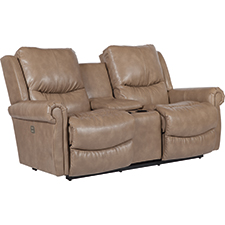Duncan Power-Recline-XRw Full Reclining Loveseat W/ Middle Console