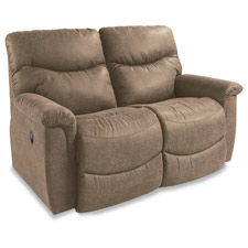 James Power La-Z-Time® Full Reclining Loveseat