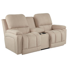 Greyson La-Z-Time® Full Reclining Loveseat with Middle Console