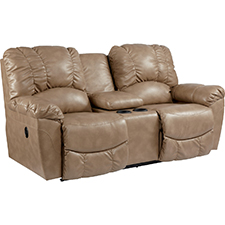 Hayes Power La-Z-Time® Loveseat with Middle Console