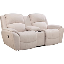 Barrett La-Z-Time® Full Reclining Loveseat with Middle Console