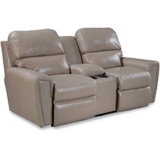 Carter Power La-Z-Time® Loveseat with Middle Console