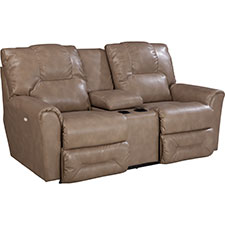 Easton Power La-Z-Time® Loveseat with Middle Console