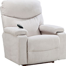 Forester Power-Recline-XR Reclina-Rocker W/2 Motor Massage & Heat