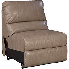 Aspen Power La-Z-Time Armless Recliner