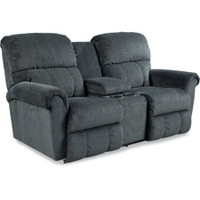 Briggs Power La-Z-Time® Loveseat with Middle Console