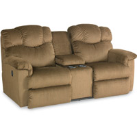 Lancer La-Z-Time® Full Reclining Loveseat with Middle Console