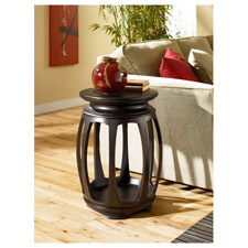 Chow Round End Table