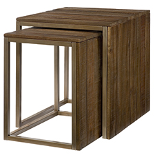 Flashback Nesting End Table