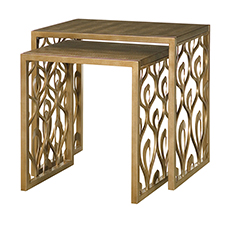 Bob Mackie Nesting End Table