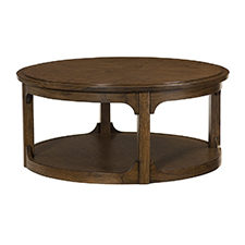 Facet Round Cocktail Table