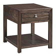 Montreat Rectangular Drawer End Table