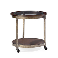 Structure  Round End Table