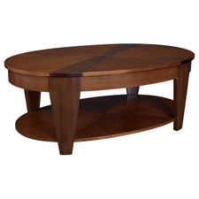 Oasis Oval Lift Top Cocktail Table