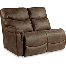 James Right-Arm Sitting Power Reclining Loveseat