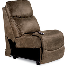 James Power La-Z-Time Armless Recliner